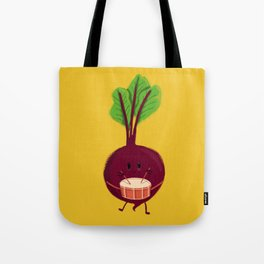 Beet's drum beat Tote Bag
