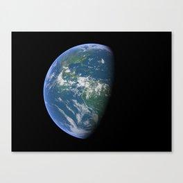 Earth 01 Canvas Print