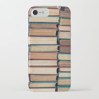 bookworm iPhone & iPod Cases featuring Bookworm by Laura Ruth