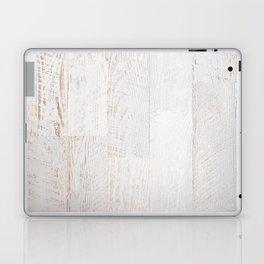 Vintage White Wood Laptop & iPad Skin