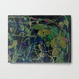 Coloful Splatter Metal Print