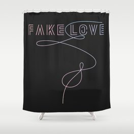 BTS - Fake Love Shower Curtain