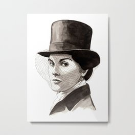 Lady Mary Metal Print