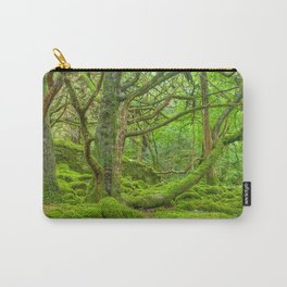 Emerald Forest Carry-All Pouch
