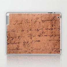 Manuscript Laptop & iPad Skin