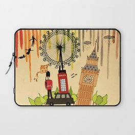 Rainbow Cities ~ London Laptop Sleeve