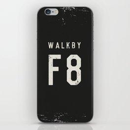 Walk by 'F8' (2) iPhone Skin