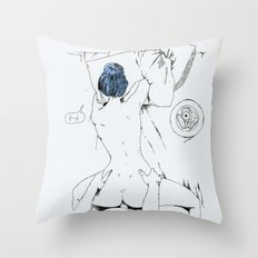 lovely breakfast Throw Pillow