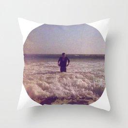 beautiful distortion Throw Pillow