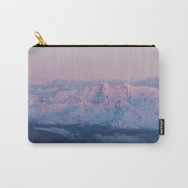 Perfect sunrise in South Tyrol - Landscape and Nature Photography Carry-All Pouch