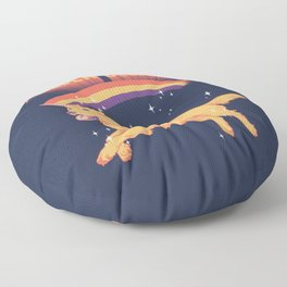 Golden Believer Floor Pillow