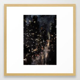 Fifth Avenue, 3 AM Framed Art Print