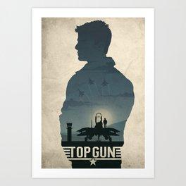 Top Gun Art Print