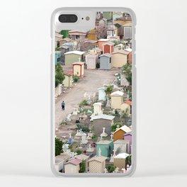 Nuestro Camino Clear iPhone Case