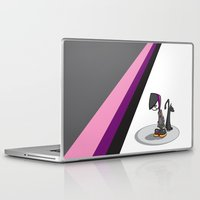 goth Laptop & iPad Skins featuring Goth Girl by Atomic Sponge