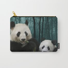Giant Pandas Carry-All Pouch