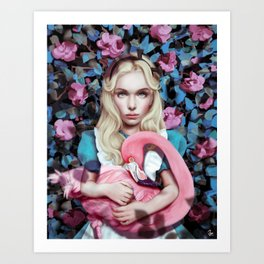"""Alice in Wonderland"" by Giulio Rossi Art Print"