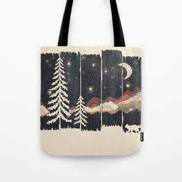 A Starry Night in the Mountains... Tote Bag