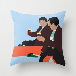 Kidnapping Caucassian Style Throw Pillow