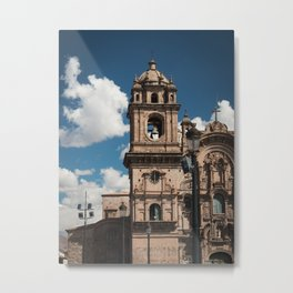 Church of the Society of Jesus, Cusco, Peru. Metal Print