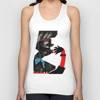 ethnic Tank Tops featuring Ethnic by longmuzzle