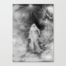 Lost soul Canvas Print