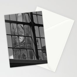 St Pancras Tower view from Kingscross train station Stationery Cards