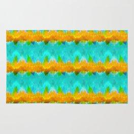 Summer Vibes Tie Dye in Tropical Rug