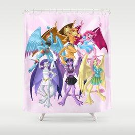 My Little Gargoyle Shower Curtain