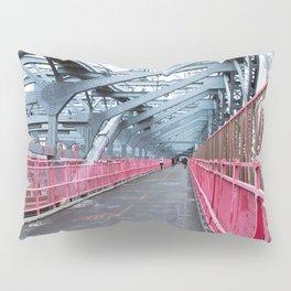 Across the Williamsburg Bridge Pillow Sham