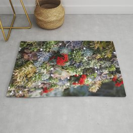 Dreamy Succulents Rug