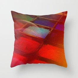 Pigmentation Throw Pillow