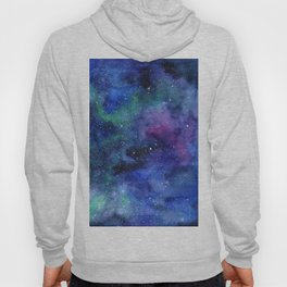 Colorful Galaxy Space Watercolor Hoody