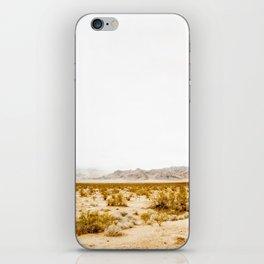 -hot desert- iPhone Skin