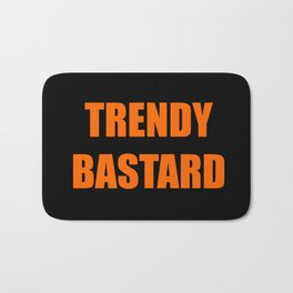 Trendy Bastard Bath Mat