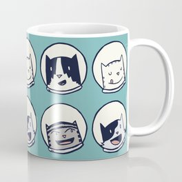 CatStronauts Team Heads Coffee Mug