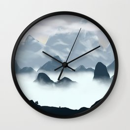 Just A Foggy Day Wall Clock