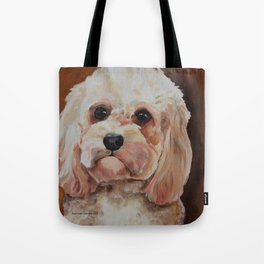 Emme The Cavapoo Tote Bag