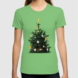 Decorated christmas tree T-shirt