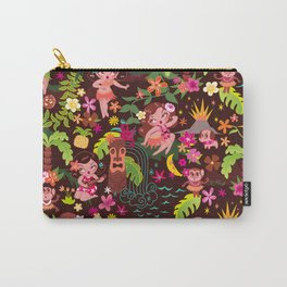 Hula Cuties Pattern Carry-All Pouch