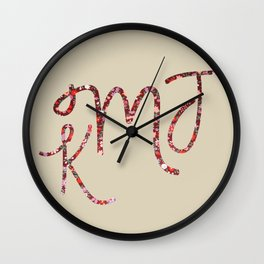 Karolina Wall Clock
