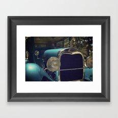 Vintage Car Ford Framed Art Print