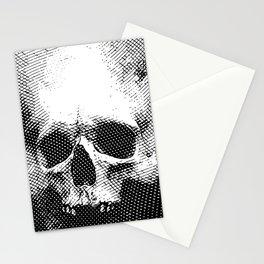 Engraving Skull Stationery Cards