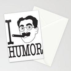 I __ Humor Stationery Cards