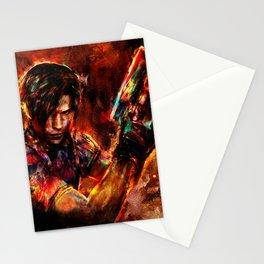 leon kennedy Stationery Cards