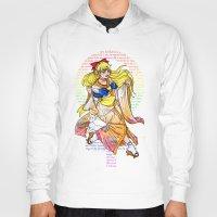 sailor venus Hoodies featuring Sailor venus by Sophira-lou