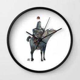 Numero 1 -Cosi che cavalcano Cose - Things that ride Things- Wall Clock