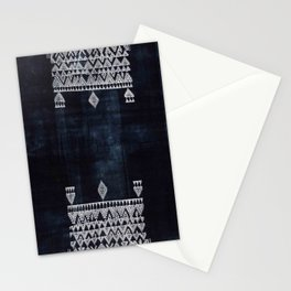 Arteresting V48 - Indigo Anthropologie Bohemien Traditional Moroccan Design Stationery Cards