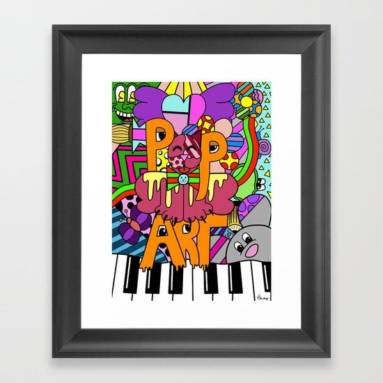 Pop Art Framed Art Print