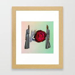 Protect Your Insides Framed Art Print